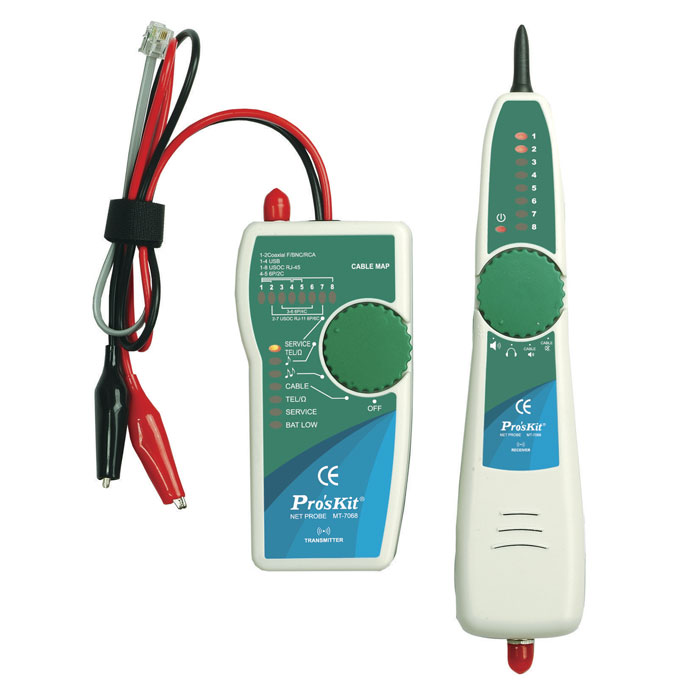 Lan Cable Tester, Tone and Probe Kit