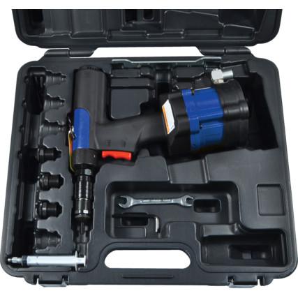 GISON GP-856BK Pneumatic Ratchet Wrench Kit, 1/2