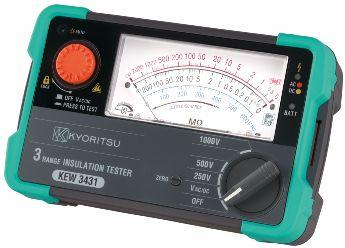 KYORITSU 3431 Analogue Insulation Testers