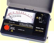 Kyoritsu 3165 Analogue Insulation Testers