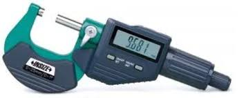 INSIZE 3109-100A ELECTRONIC OUTSIDE MICROMETER 75-100mm/3-4″