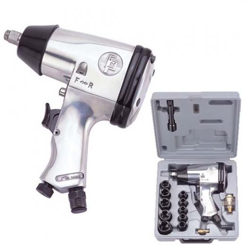 Gison GW-15BK Pneumatic Impact Wrench 1/2″ (230 ft.lb) with kits