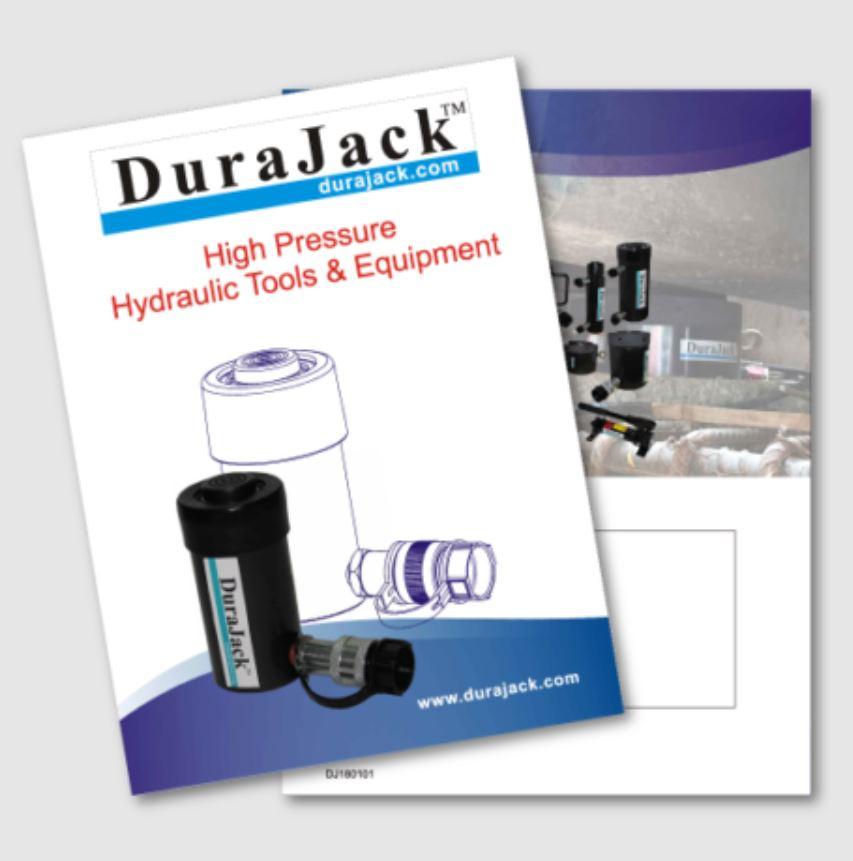 durajack hydraulic jack catalog