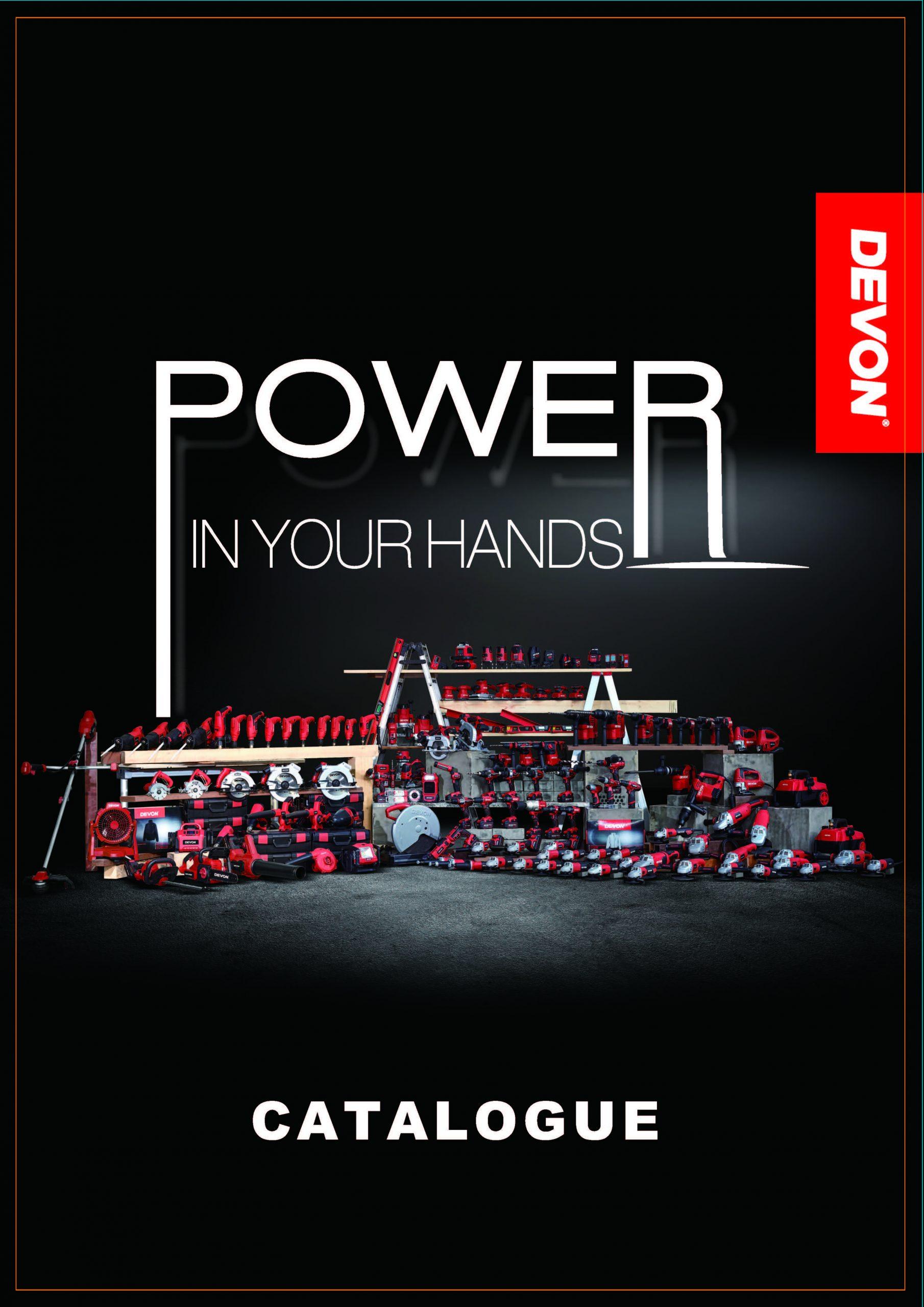 Devon power tools Catalog